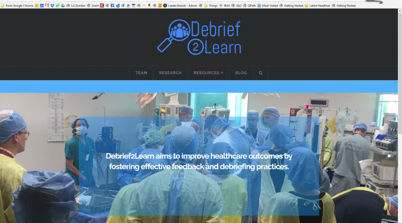 Introducing Debrief2Learn